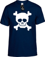 Skull Funny T-Shirts Youth Novelty Tees