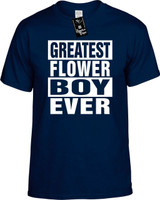GREATEST FLOWER BOY EVER Youth Novelty T-Shirt