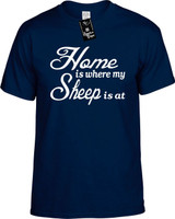 Home is where my Sheep is at Youth Novelty T-Shirt