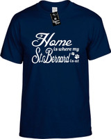 Home is where my St Bernard is at Youth Novelty T-Shirt