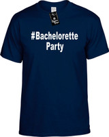 :#BacheloretteParty (Hashtag Shirt) Youth Novelty T-Shirt