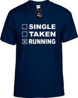 SINGLE TAKEN RUNNING Youth Novelty T-Shirt
