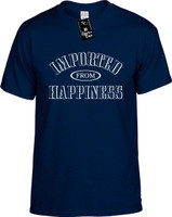 IMPORTED FROM HAPPINESS Youth Novelty T-Shirt