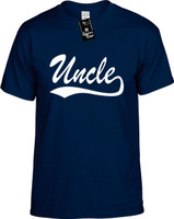 Uncle (baseball font) Youth Novelty T-Shirt