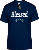 Blessed (with three crosses) Youth Novelty T-Shirt