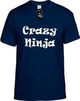Crazy Ninja Youth Novelty T-Shirt