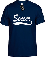 Soccer (baseball font) Youth Novelty T-Shirt