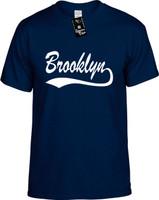 Brooklyn (baseball font) Youth Novelty T-Shirt