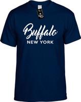 Buffalo New York (city state) Youth Novelty T-Shirt