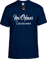 New Orleans Louisiana (city state) Youth Novelty T-Shirt