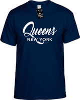 Queens New Yorl (city state) Youth Novelty T-Shirt