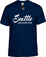 Seatlle Washington (city state) Youth Novelty T-Shirt