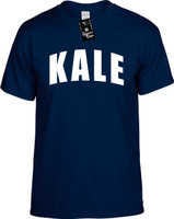 Kale (Curved) Food Health Vegan Vegetarian Youth Novelty T-Shirt