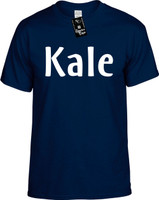Kale (Food Health) Vegan Vegetarian Youth Novelty T-Shirt