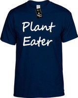 Plant Eater (Food Health) Vegan Vegetarian Herbivore Youth Novelty T-Shirt