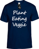 Plant Eating Veggie (Food Health) Vegan Vegetarian Herbivore Youth Novelty T-Shirt