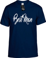Best Man (new font) Youth Novelty T-Shirt