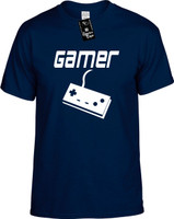 GAMER (with remote) old school remote control Youth Novelty T-Shirt