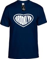 Brooklyn (Heart) New York Youth Novelty T-Shirt