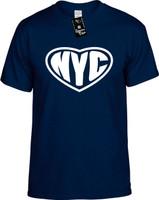 NYC (Heart) New York City Youth Novelty T-Shirt