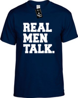 Real Men Talk Youth Novelty T-Shirt