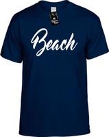 Beach (Vacation Holiday Travel Ocean) Youth Novelty T-Shirt