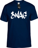 Swag (cool font) Youth Novelty T-Shirt