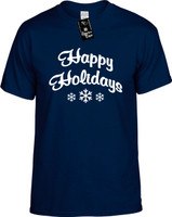 Happy Holidays Youth Novelty T-Shirt