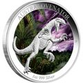 2014 $1 Dinosaurs - Australovenator 1oz Silver Proof