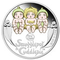 2015 50c Snugglepot & Cuddlepie - Newborn 1/2oz Silver Proof
