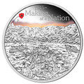 2015 $1 Making of a Nation - WWI 1oz Silver Proof
