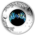 2015 $1 Opal Ghost Bat 1oz Silver Proof