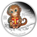 2016 50c Baby Monkey 1/2oz Silver Proof