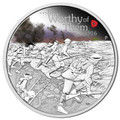 2016 $1 Be Worthy of Them 1oz Silver Proof