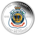 2016 $1 RSL Centenary 1oz Silver Proof