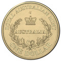 2016 $1 Australias First Mints S Counterstamp UNC