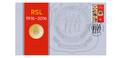 2016 Australian RSL 1916-2016 Anniversary $1 coin PNC
