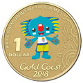 2018 $1 Commonwealth Games Mascot Al-Br FrUnc