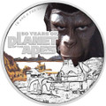 2018 $1 Planet Of The Apes 50th Anniversary 1oz Silver Proof