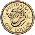 2011 Perth ANDA - Ram's Head, Uncirculated one Dollar ( P Counterstamp)