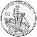 2011 Australia Remembers - War Historians - 20c Cu/Ni Unc Coin