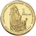 2011 Inspirational Australians - Dame Joan Sutherland- $1 Al/Br Uncirculated Coin