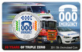 2011 50c UNC - 50th Anniversary of the Triple Zero Emergency Call Service
