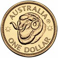 2011 Adelaide ANDA Show exclusive – Ram's Head Dollar A Counterstamp