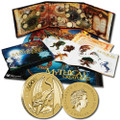 YOUNG COLLECTORS - 2011 MYTHICAL CREATURES $1 COIN COLLECTION