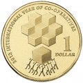 2012 International Year of Co-operatives - $1 Uncirculated Coin