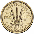 2012 $1 Unc BLUEBELL COUNTERSTAMP COIN