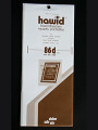 Hawid Stamp Mounts: 25 Strips 86mm x 210mm