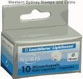 Lighthouse Coin Capsules -- 18mm: Box of 10