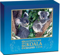 2010 AUSTRALIAN KOALA SILVER COIN SERIES 1oz GILDED EDITION